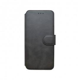 Motorola G8 Power Lite čierna bočná knižka, 2020