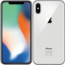 Apple iPhone X, 64GB | Silver, Trieda A - použité, záruka 12 mesiacov