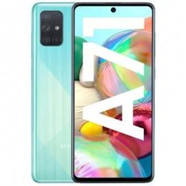 Samsung Galaxy A71, Modrý Trieda A - použité, záruka 12 mesiacov