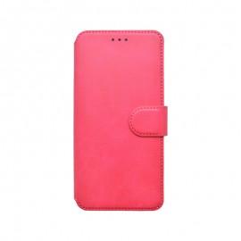 Huawei P40 Lite 5G tm. ružová bočná knižka, 2020