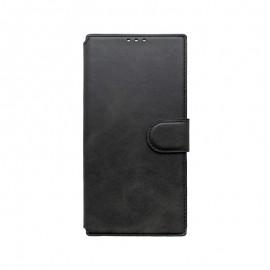 Samsung Galaxy Note 20 Plus čierna bočná knižka, 2020
