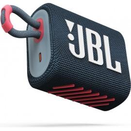 JBL GO3 Bluetooth reproduktor Modrý coral, - SK Distribúcia
