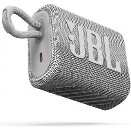 JBL GO3 Bluetooth reproduktor Biely, - SK Distribúcia