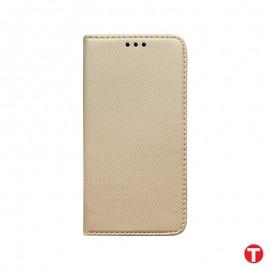 Xiaomi RedMi Note 9 Pro zlatá bočná knižka, vzorovaná