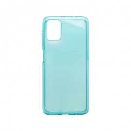 Motorola G9 Plus modré gumené puzdro, nelepivé