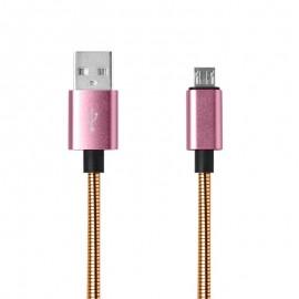 Dátový kábel MicroUSB medený, 1m, 2A