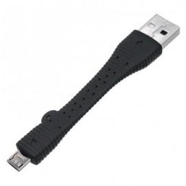 Dátový kábel Micro USB/USB, krátky, čierny