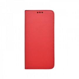 Xiaomi RedMi 9C červená bočná knižka, vzorovaná