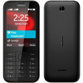 Nokia 225 4G Dual SIM, Čierna - SK