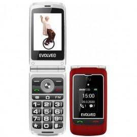 Evolveo EasyPhone FG červený (EP-750-FGR)