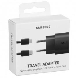 Samsung nabíjačka Super Fast Charging 25W, čierna