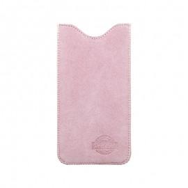 4XL puzdro z brúsenej kože SPRING ružové