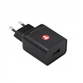 Sieťová nabíjačka 3.4A Quick Charge 3.0 Adaptér 18W, Eco balenie, čierna
