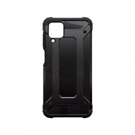 Samsung Galaxy A12 plastové puzdro, čierna Military