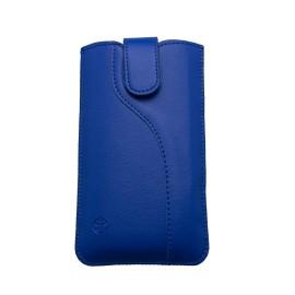 Univerzálne vsuvkové puzdro 5.0' rozmer 144x74x8.5, S-line vzor, modrá
