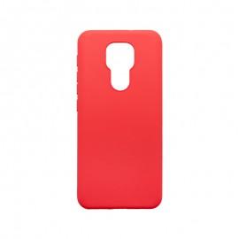 Motorola G9 Play červené gumené puzdro, matné