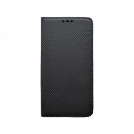 Motorola One Fusion Plus bočná knižka, čierna (magnet)