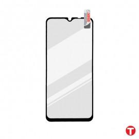 Xiaomi Redmi 9 Prime čierna sklenená fólia Full Glue, Q Sklo