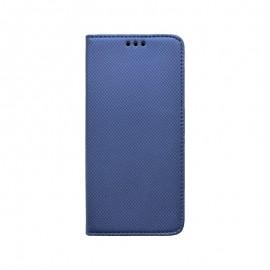 Motorola One Fusion Plus tmavo modrá bočná knižka, vzorovaná