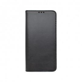 Huawei P40 Lite čierna bočná knižka, Smart