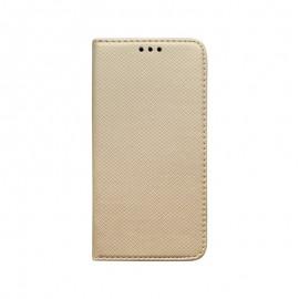 Knižkové puzdro Huawei Y6s zlaté, vzorované