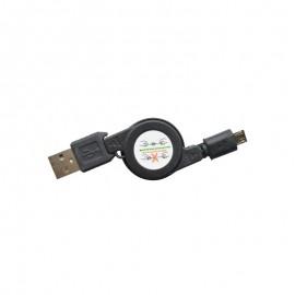 Nabíjací kábel USB/micro USB vyťahovací