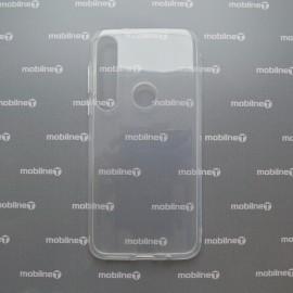 Silikónový kryt Moto G8 Plus priehľadný, nelepivý
