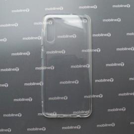 Silikónové puzdro Samsung Galaxy A30s priehľadné nelepivé