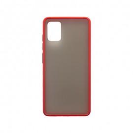 Samsung Galaxy A51 červené plastové puzdro, Season