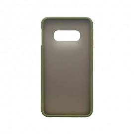 Samsung Galaxy S10e sivé plastové puzdro, Season