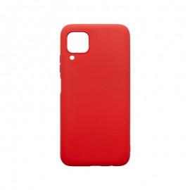 Huawei P40 Lite červené gumené puzdro, matné