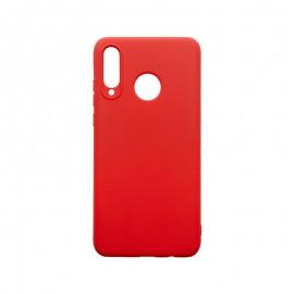 Huawei P30 Lite červené gumené puzdro, matné