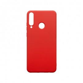 Huawei Y6P červené gumené puzdro, matné