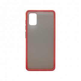 Samsung Galaxy A41 červené Plastové puzdro, Season