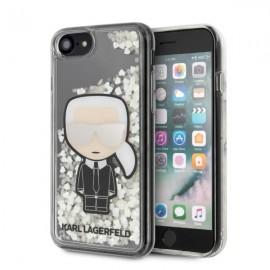 Karl Lagerfeld puzdro na iPhone 7, iPhone 8, iPhone SE, KLHCI8GLGIRKL Glitter