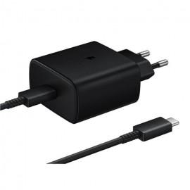 Samsung nabíjačka Super Fast Charging 45W, čierna, EP-TA845