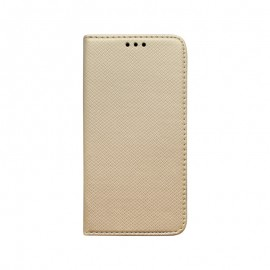 Huawei P Smart 2021 zlatá bočná knižka, vzorovaná