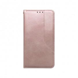 iPhone 12 Max Pro ružové magnetické knižkové puzdro