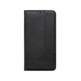 iPhone 12 / iPhone 12 Pro čierne magnetické knižkové puz.