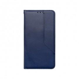 iPhone 12 Max Pro modré magnetické knižkové puzdro