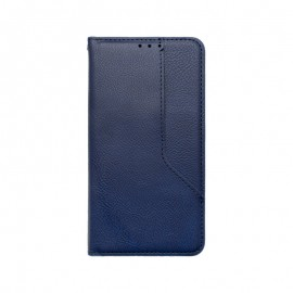 iPhone 12 mini modré magnetické knižkové puzdro