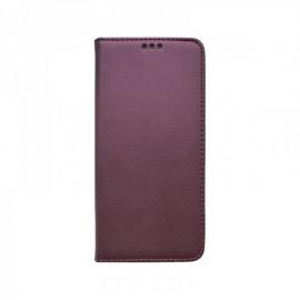 Samsung Galaxy A02s bočná knižka, bordová, Smart