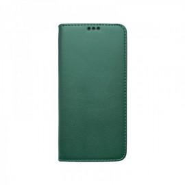 Samsung Galaxy A02s bočná knižka, tmavá zelená, Smart