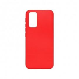 mobilNET silikónové puzdro červené matné, Xiaomi Redmi 9T