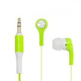 mobilNET slúchadlá 3.5mm jack, zelené