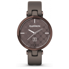 GARMIN LILY, Classic, Dark Bronze/Paloma, Italian Leather