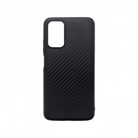 mobilNET silikónové puzdro Carbon Xiaomi Redmi 9T, čierne