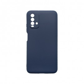 mobilNET silikónové puzdro Xiaomi Redmi 9T tmavo modré