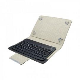 Univerzálne tabletovcé puzdro (10) s Bluetooth klávesnicou čierne