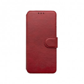mobilNET knižkové puzdro Xiaomi Note 10 červená 2020